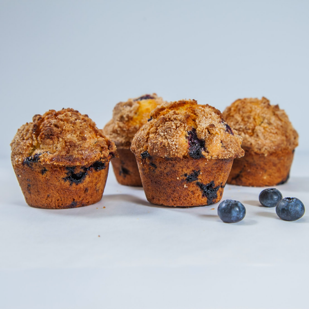 HIve48 Blueberry Crumble Muffin